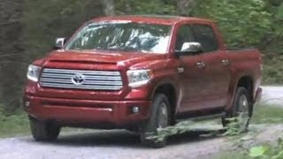 2014 Toyota Tundra Truck First Drive, Off-Road Test, And Walkaround Video Review