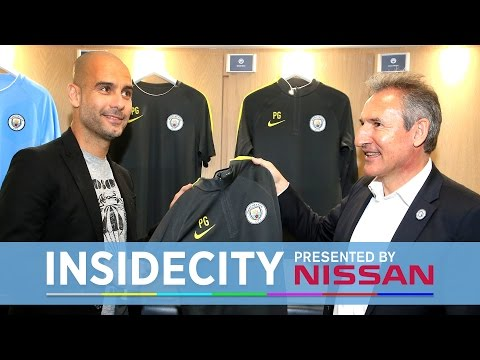 PEP GUARDIOLA'S FIRST DAY | Inside City 198