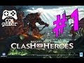 Might Magic: Clash Of Heroes Parte 1 gameplay xbox 360
