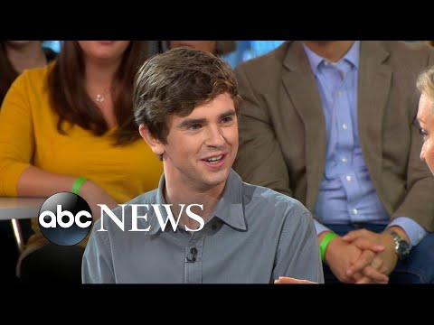 Freddie Highmore dishes on 'The Good Doctor'