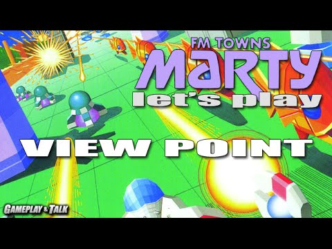 Let's Play Viewpoint on the FM Towns Marty