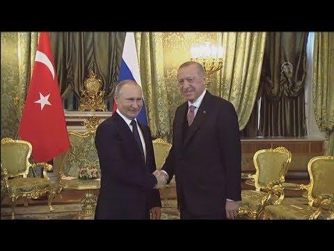 Συνάντηση Πούτιν – Ερντογάν στη Μόσχα