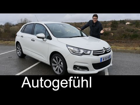 2015 Citroen C4 Facelift Selection test drive REVIEW – Autogefühl