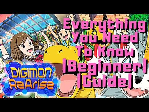 Everything you need to know! | Digimon ReArise Global [Beginner Guide]