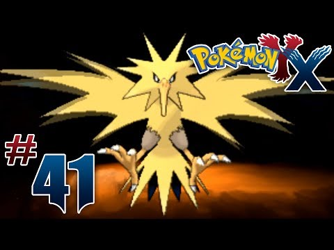 Let's Play Pokemon: X - Part 41 - ZAPDOS