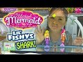 Amazing Magical Mermaids vs Shark in Aquarium | My Magical Mermaid & Lil' Fishy Shark Toy Opening
