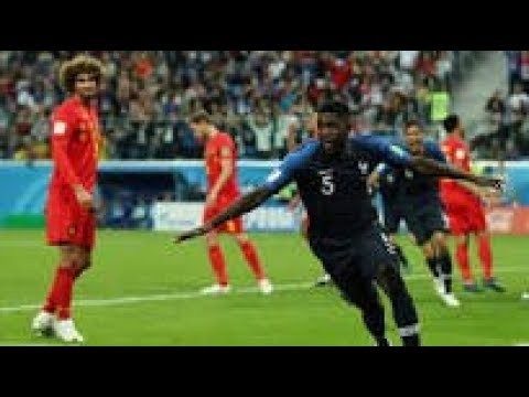 France vs Belgium 1-0 - Highlights of Russia 2018 World Cup