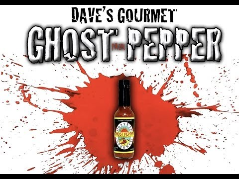 Extreme Hot Sauce Review- Dave's Gourmet- Ghost Pepper, Naga Jolokia Hot Sauce