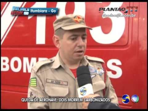 Rioverdense morre em queda de avião em Bom Jesus de Goiás
