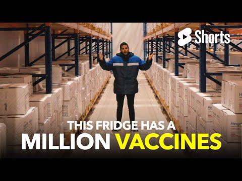 This Fridge Has A Million Vaccines