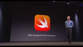Introduction of the Swift programming language along with iOS 8