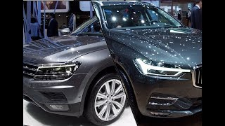 Video 2017 Volkswagen Tiguan Allspace vs. 2017 Volvo XC60 MP3, 3GP, MP4, WEBM, AVI, FLV November 2017
