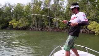 Lure fishing estuary snags