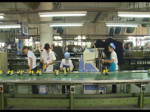 Ngành da giày nỗ lực nâng cao chất lượng chiếm lĩnh thị trường