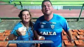 Mesmo em minoria, a torcida avaiana esteve presente em Salvador, onde o time catarinense empatou e conquistou um ponto...
