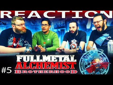 Fullmetal Alchemist: Brotherhood Episode 5 REACTION!!
