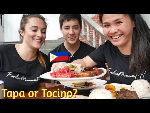 CANADIANS TRY FILIPINO BREAKFAST FOOD!!! Foreigners Eat Filipino Food In Manila Philippines