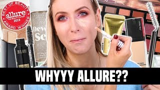 Beauty WINNERS Allure?? Are we SURE??    FULL FACE OF BEST OF BEAUTY 2019 by Rachhloves