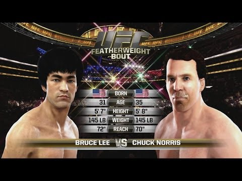 Norris - Bruce Lee vs Chuck Norris Rematch Here http://youtu.be/JGRH9DBfx_I EA SPORTS UFC site: http://bit.ly/1tNCJxh Share some Chuck Norris facts in comments ➼ http...