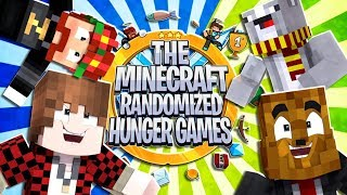The Minecraft Randomized Hunger Games! #6 - 2VS2 Minecraft Modded Minigames | JeromeASF
