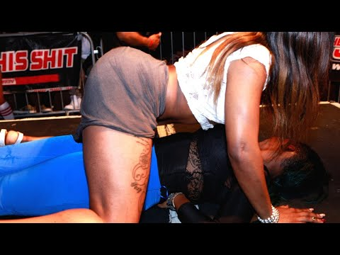 The Jump Off Girl On Girl Twerking!