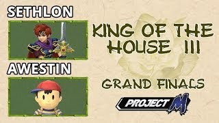 All KotH3 vids are up and ready for you! PM and Melee action from Sethlon, Oracle, Awestin, and Wobbles!