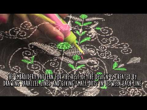 Liquid Embroidery Designs Diy Tutorials Online India
