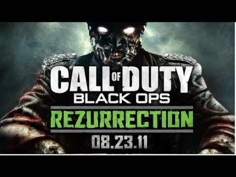 Black Ops: 'Rezurrection' Zombies Map Pack  – New Leaked Information! New QED Device & More!