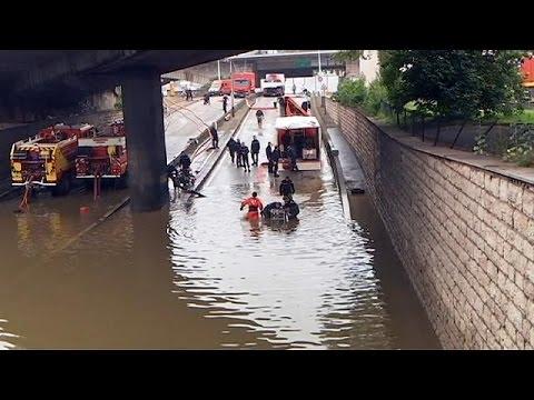 Γαλλία: Κάτω από τα 6 μέτρα η στάθμη του Σηκουάνα