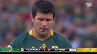 South Africa v Australia Rugby Championship 2016 Rd.5 | Rugby Championship Video Highlights