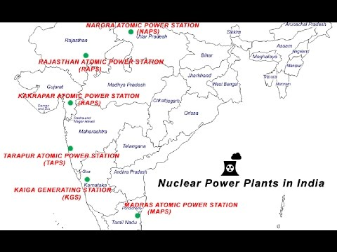 Where are the Nuclear Power Plants in India