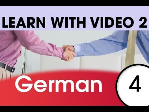 Learn German with Video – Top 20 German Verbs 2