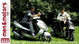10. Kymco Ego 125cc and Super 9 50cc Review (2000)