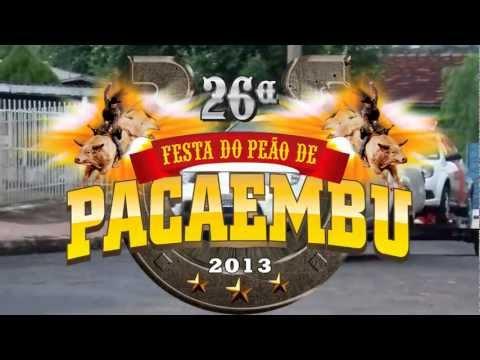 Chamada da 26ª Festa do Peão de Pacaembu-SP 2013