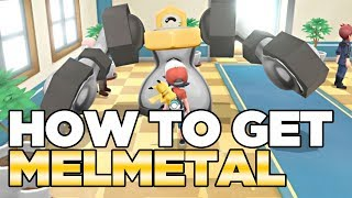 How To Get Melmetal in Pokemon Let's Go Pikachu & Eevee