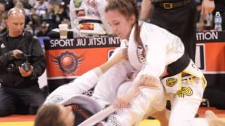 2015 SJJIF Worlds Women Feather Weight Black Belt Div.