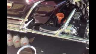 8. Harley Davidson Oil Change