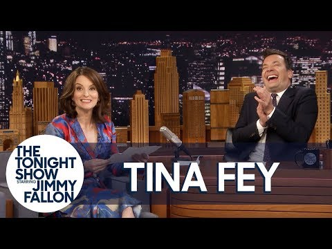 Tina Fey Reads the Letter She Wrote to Her Future Self (видео)