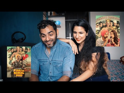 Suraj Pe Mangal Bhari | Official Trailer Reaction | Diljit | Manoj | This Diwali
