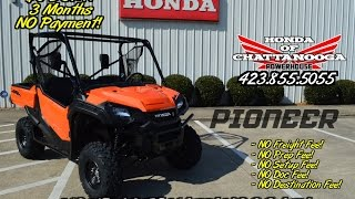 10. 2016 Honda Pioneer 1000 EPS Video Review / Specs - Orange UTV / Side by Side ATV / SxS