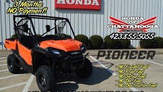 3. 2016 Honda Pioneer 1000 EPS Video Review / Specs - Orange UTV / Side by Side ATV / SxS