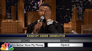 Video Musical Genre Challenge with Jamie Foxx MP3, 3GP, MP4, WEBM, AVI, FLV Oktober 2018