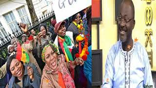Awww See How Ghanaians Abroad C.ry & Beg For The Return Of Hon. Kennedy Agyapong