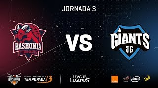SUPERLIGA ORANGE - THUNDERX3 BASKONIA VS GIANTS OTB - Mapa 1 - #SUPERLIGAORANGELOL3
