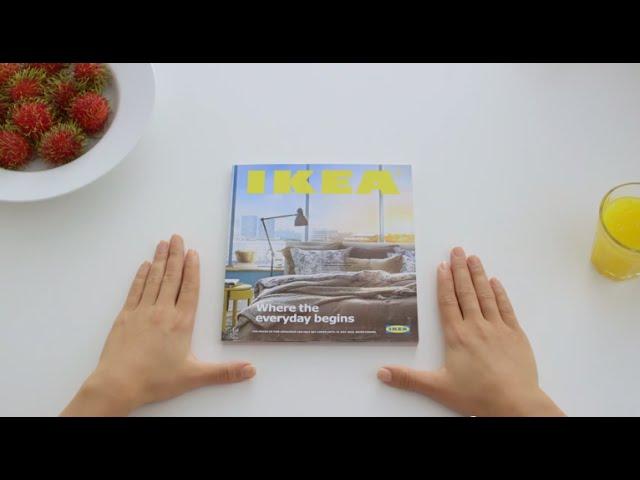 IKEA nápaditě paroduje iPad ve videu o novém katalogu 2015