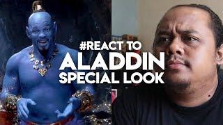 #React to ALADDIN SPECIAL LOOK | DISNEY MALAYSIA
