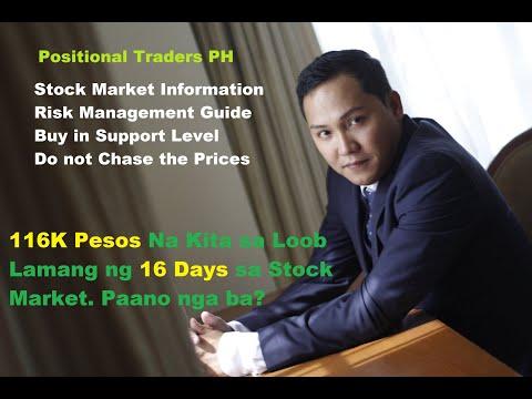 116K Pesos Na Kita sa Loob Lamang ng 16 Days sa Stock Market. Paano nga ba?