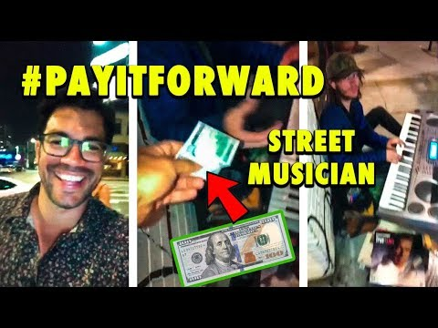 ‪Paying It Forward To A Street Musician‬‏