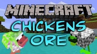 Minecraft Mods Showcase: Ore Chickens - More Chickens Mod (1.3.2)