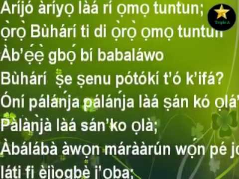 @GovAyoFayose Epe a mo e o! Oro @ThisisBuhari Ti Di Oro Omo Tun Tun